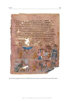 Bild der Seite - 313 - in The Vienna Genesis - Material analysis and conservation of a Late Antique illuminated manuscript on purple parchment