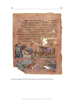 Bild der Seite - 314 - in The Vienna Genesis - Material analysis and conservation of a Late Antique illuminated manuscript on purple parchment