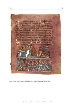 Bild der Seite - 315 - in The Vienna Genesis - Material analysis and conservation of a Late Antique illuminated manuscript on purple parchment