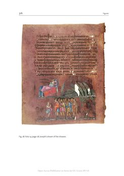 Bild der Seite - 316 - in The Vienna Genesis - Material analysis and conservation of a Late Antique illuminated manuscript on purple parchment