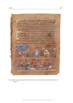 Bild der Seite - 317 - in The Vienna Genesis - Material analysis and conservation of a Late Antique illuminated manuscript on purple parchment