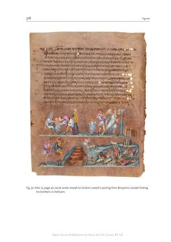 Bild der Seite - 318 - in The Vienna Genesis - Material analysis and conservation of a Late Antique illuminated manuscript on purple parchment