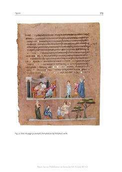 Bild der Seite - 319 - in The Vienna Genesis - Material analysis and conservation of a Late Antique illuminated manuscript on purple parchment