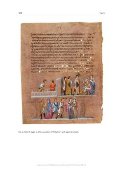 Bild der Seite - 320 - in The Vienna Genesis - Material analysis and conservation of a Late Antique illuminated manuscript on purple parchment