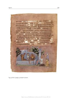 Bild der Seite - 321 - in The Vienna Genesis - Material analysis and conservation of a Late Antique illuminated manuscript on purple parchment