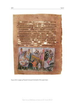 Bild der Seite - 322 - in The Vienna Genesis - Material analysis and conservation of a Late Antique illuminated manuscript on purple parchment