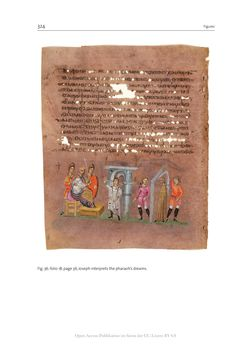 Bild der Seite - 324 - in The Vienna Genesis - Material analysis and conservation of a Late Antique illuminated manuscript on purple parchment