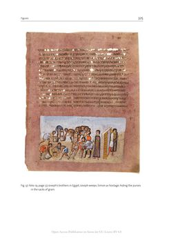 Bild der Seite - 325 - in The Vienna Genesis - Material analysis and conservation of a Late Antique illuminated manuscript on purple parchment