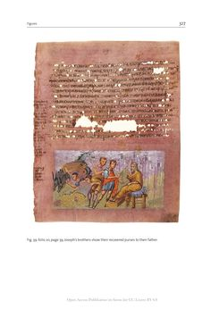 Bild der Seite - 327 - in The Vienna Genesis - Material analysis and conservation of a Late Antique illuminated manuscript on purple parchment