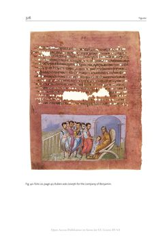 Bild der Seite - 328 - in The Vienna Genesis - Material analysis and conservation of a Late Antique illuminated manuscript on purple parchment