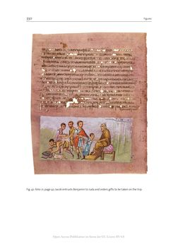 Bild der Seite - 330 - in The Vienna Genesis - Material analysis and conservation of a Late Antique illuminated manuscript on purple parchment