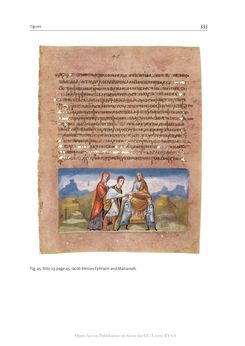 Bild der Seite - 333 - in The Vienna Genesis - Material analysis and conservation of a Late Antique illuminated manuscript on purple parchment