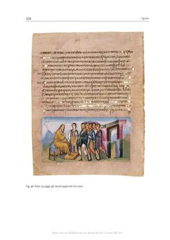 Bild der Seite - 334 - in The Vienna Genesis - Material analysis and conservation of a Late Antique illuminated manuscript on purple parchment