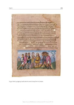 Bild der Seite - 335 - in The Vienna Genesis - Material analysis and conservation of a Late Antique illuminated manuscript on purple parchment