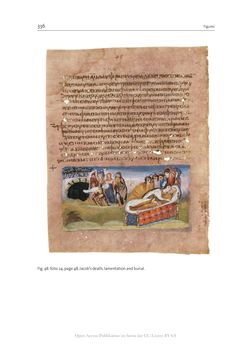 Bild der Seite - 336 - in The Vienna Genesis - Material analysis and conservation of a Late Antique illuminated manuscript on purple parchment