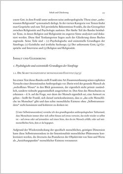 Image of the Page - 11 - in Viktor E. Frankl - Gesammlte Werke