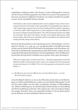 Bild der Seite - 14 - in Viktor E. Frankl - Gesammlte Werke