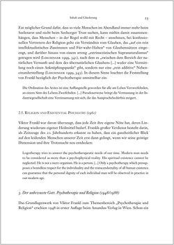 Bild der Seite - 23 - in Viktor E. Frankl - Gesammlte Werke