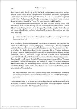 Bild der Seite - 24 - in Viktor E. Frankl - Gesammlte Werke