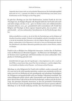 Bild der Seite - 25 - in Viktor E. Frankl - Gesammlte Werke