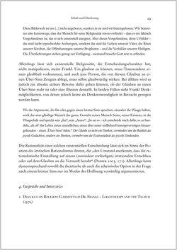 Image of the Page - 29 - in Viktor E. Frankl - Gesammlte Werke