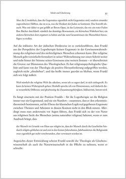 Bild der Seite - 35 - in Viktor E. Frankl - Gesammlte Werke