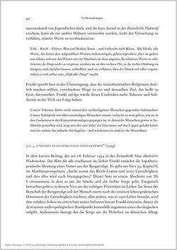 Bild der Seite - 40 - in Viktor E. Frankl - Gesammlte Werke