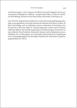 Image of the Page - 309 - in Viktor E. Frankl - Gesammlte Werke