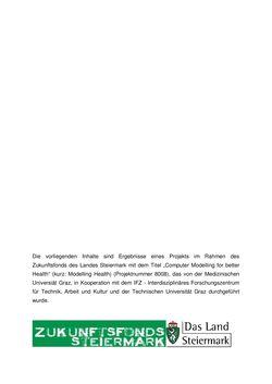 Bild der Seite - (000004) - in Die Akzeptanz virtueller Gesundheits-Avatare - Eine Fokusgruppenanalyse, Band 1