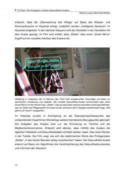 Bild der Seite - 14 - in Die Akzeptanz virtueller Gesundheits-Avatare - Eine Fokusgruppenanalyse, Band 1