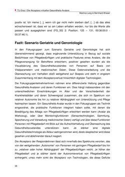 Bild der Seite - 26 - in Die Akzeptanz virtueller Gesundheits-Avatare - Eine Fokusgruppenanalyse, Band 1