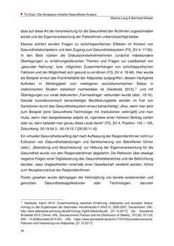Bild der Seite - 34 - in Die Akzeptanz virtueller Gesundheits-Avatare - Eine Fokusgruppenanalyse, Band 1