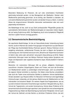 Bild der Seite - 19 - in Nutzer-Profile von Gesundheits-Avataren - Erhebung zielgruppenspezifischer Anwendungskontexte, Band 2