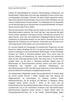 Bild der Seite - 25 - in Nutzer-Profile von Gesundheits-Avataren - Erhebung zielgruppenspezifischer Anwendungskontexte, Band 2