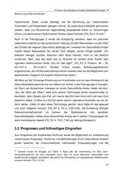 Bild der Seite - 33 - in Nutzer-Profile von Gesundheits-Avataren - Erhebung zielgruppenspezifischer Anwendungskontexte, Band 2