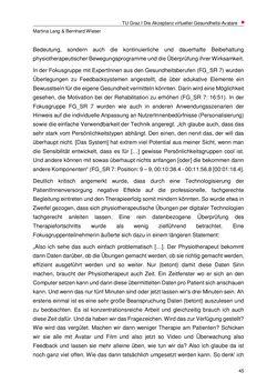 Bild der Seite - 45 - in Nutzer-Profile von Gesundheits-Avataren - Erhebung zielgruppenspezifischer Anwendungskontexte, Band 2