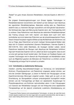 Bild der Seite - 56 - in Nutzer-Profile von Gesundheits-Avataren - Erhebung zielgruppenspezifischer Anwendungskontexte, Band 2