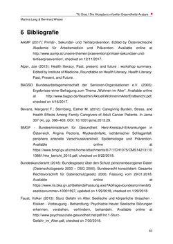 Bild der Seite - 63 - in Nutzer-Profile von Gesundheits-Avataren - Erhebung zielgruppenspezifischer Anwendungskontexte, Band 2